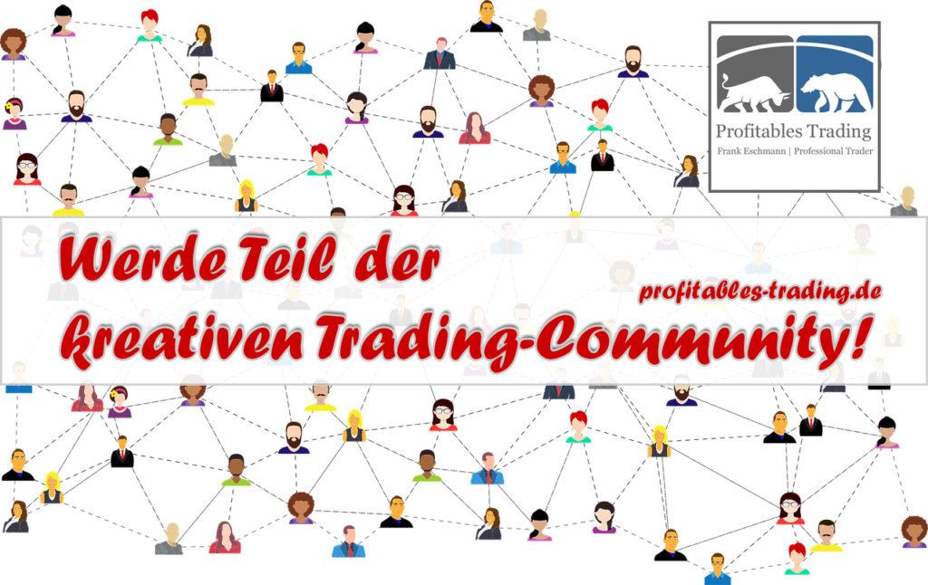 Bewirb Dich jetzt um einen Platz in unserer kreativen strategischen Trading-Community auf Facebook und absolviere das Basis-Coaching!