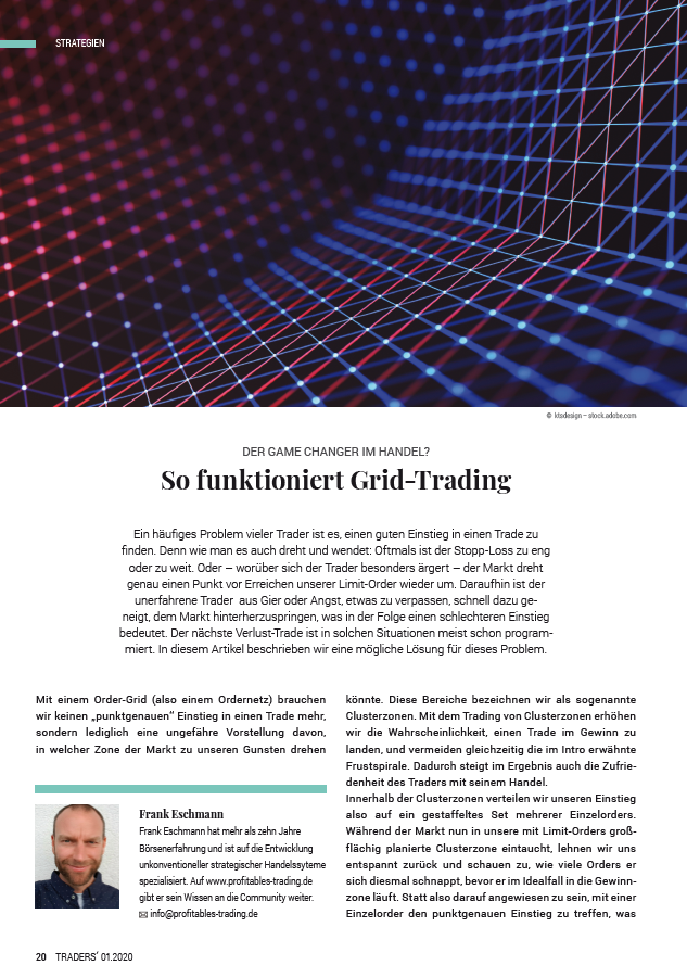 Traders Magazin: So funktioniert Grid-Trading